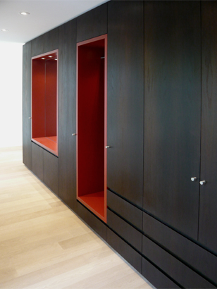 superform garderobe mit nischen schreinerei superform. Black Bedroom Furniture Sets. Home Design Ideas